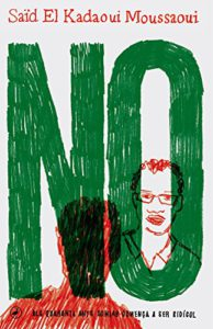 Cover of the book 'No' (2017), by Said El Kadaoui.