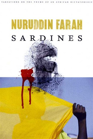 Book cover for the Somali novel Sardines by Nuruddin Farah