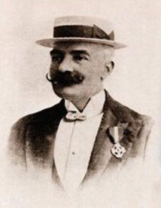 Photographic portrait of Emilio Salgari. Courtesy Wikimedia commons.