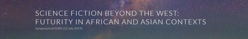 Conference banner for Science Fiction Beyond the West